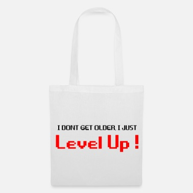 Cereza Level Up negro - Bolsa de tela