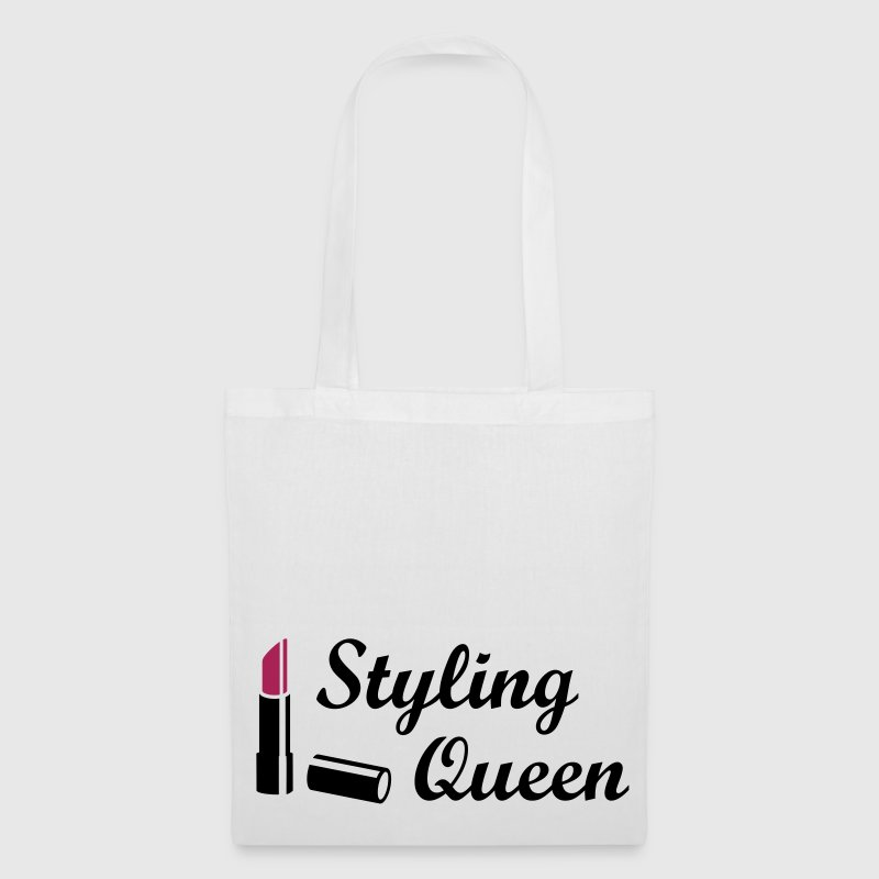 Styling Queen  Style Fashion Lipstick - Tote Bag