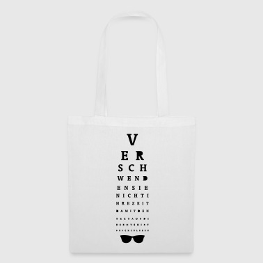 Sehtest / Eye Test - Stoffbeutel