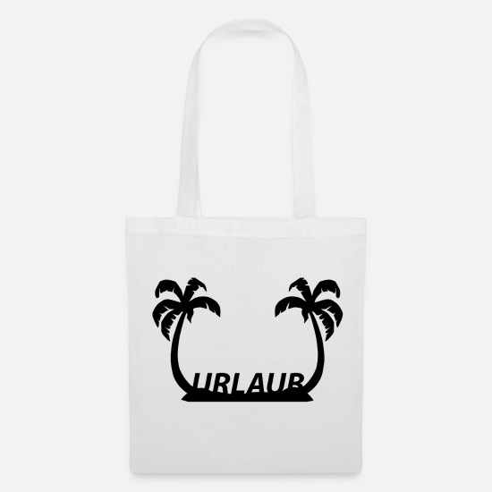 Vacation Country Bags & Backpacks - to go on vacation - Tote Bag white