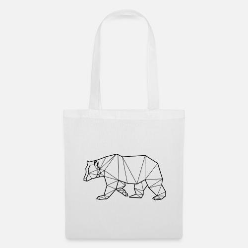 424edd69eb Tote BagBlack Bear - Animal Prism. Yorkmout