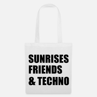 Vinyl Sunrises, Friends & Techno - Tas van stof