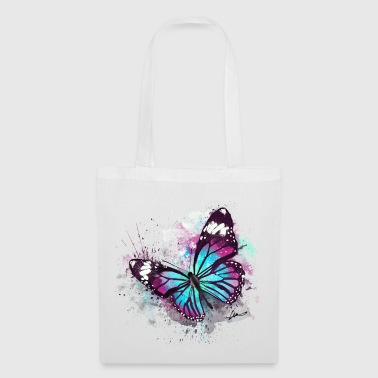 Beautiful Butterfly Watercolour - Tote Bag