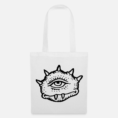 Bad Look A monster with a bad look - Tote Bag