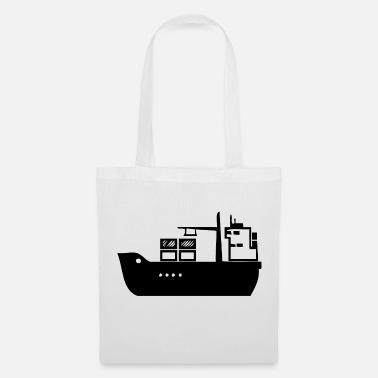 Millionaire A ship of industry in the sea - Tote Bag