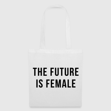 Future Is Female Quote - Bolsa de tela