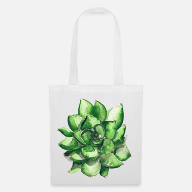 Succulent watercolor | Greenery Watercolor Edition - Tote Bag