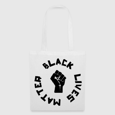 BLACK LIVES MATTER ROUND - Tote Bag