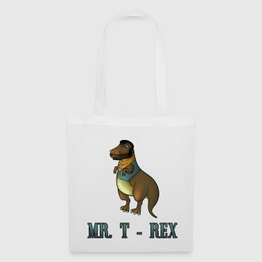 Mr. T Rex Raptor - Tote Bag