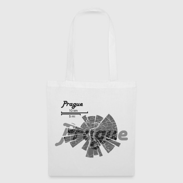 Prague Map - Tote Bag