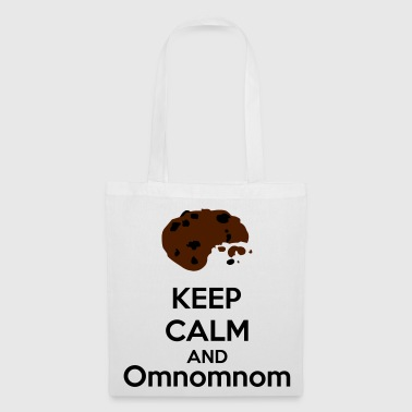 Keep Calm And Omnomnom - Borsa di stoffa