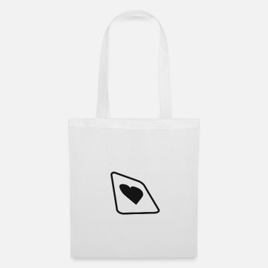 Cards Card Heart Card pour les amateurs de poker - Tote Bag
