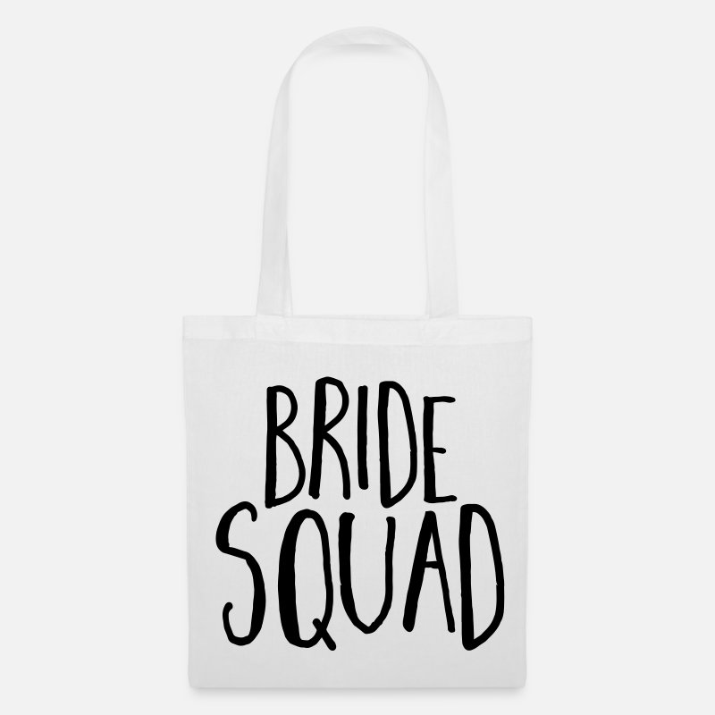 Party Bags & Backpacks - Bride Squad Hen Party  - Tote Bag white