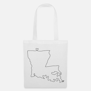 Louisiana Cuore LOUISIANA - Borsa di stoffa