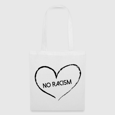 Racism, No Racism - Tote Bag