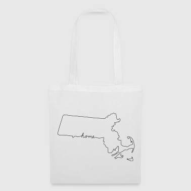 America MASSACHUSETTS Home - Tote Bag