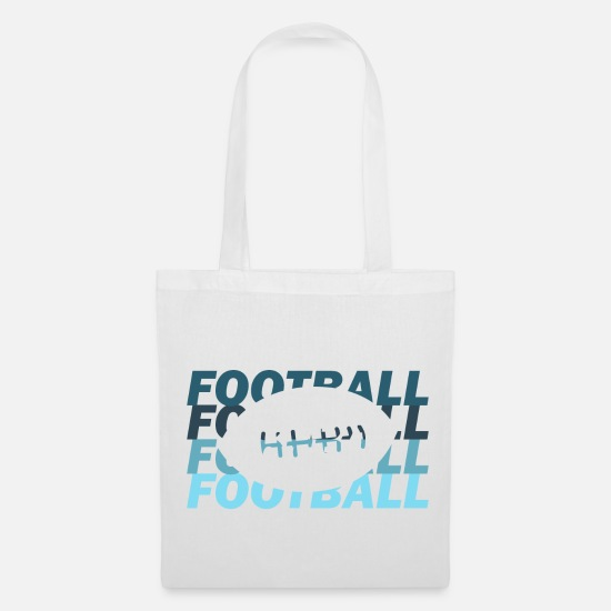 American Football Bags & Backpacks - American football - Tote Bag white