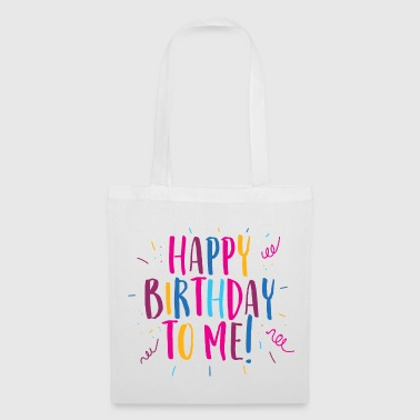 Congratulations on my birthday! - Tote Bag