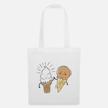 Best friends - ice cream - Tote Bag