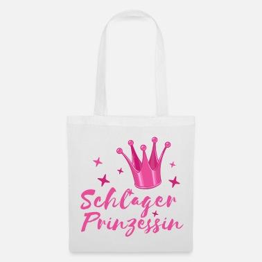 Schlager Princess Schlagerfan Krone folk music - Bolsa de tela 940a720f7c3