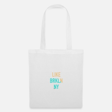 Ny Idea regalo Brooklyn Brooklyn New York a New York - Borsa di stoffa