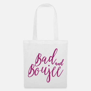 Bad Manners Bad And Boujee Graphic - Tote Bag
