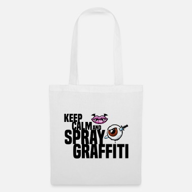 Giovani Mantieni Clam e Spray Graffiti Lip Kiss Vampire Au - Borsa di stoffa