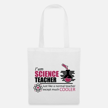 Science-teacher Science Teacher Funny Quote teacher - Tote Bag