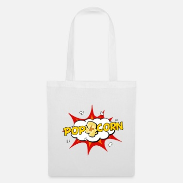 Pop Art Pop-corn Pop Art - Tote Bag