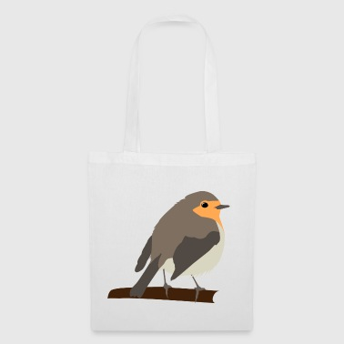 Red-throated logo - Tote Bag