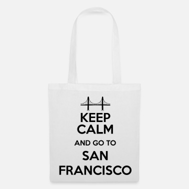 Keep Calm and go to San Francisco - Tote Bag