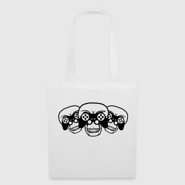 Lanparty 3 Friends Team Crew Playing Gamers Gambling - Tote Bag