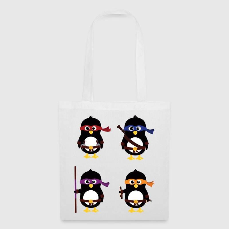 Penguins ninjas - Tote Bag