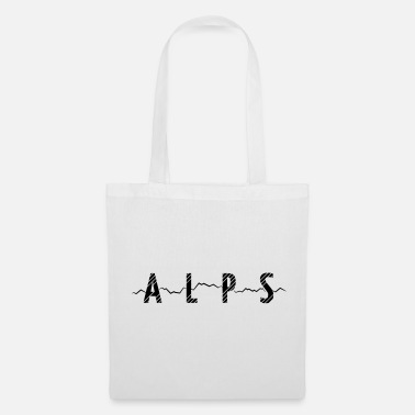 Alps Mountains ALPS - MOUNTAINS - Tote Bag