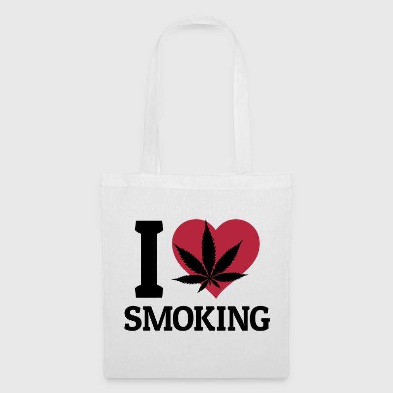 I love smoking - Tote Bag