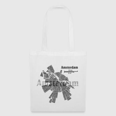 Amsterdam plan - Tote Bag