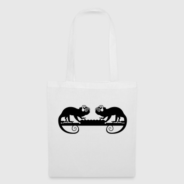 Up team 2 friends couple duo plate mixer vinyl on - Tote Bag