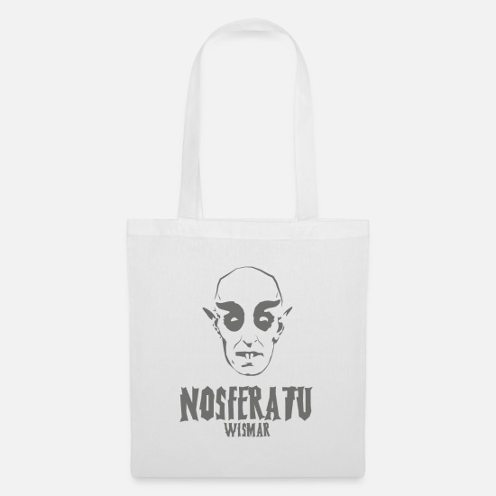 Frankenstein Bags & Backpacks - Nosferatu horror movie horror scary - Tote Bag white