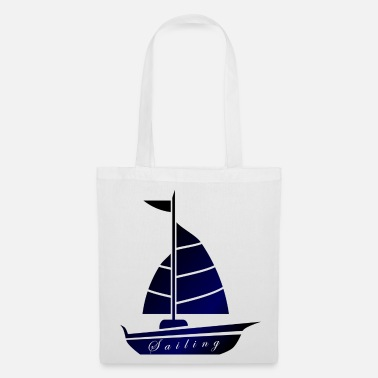 Ancre Voile vers Hambourg Mer du Nord - Tote Bag