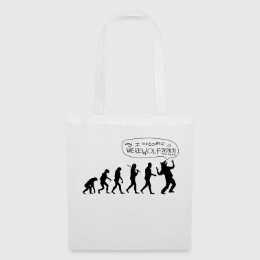 Werewolf Parody of Halloween - Tote Bag
