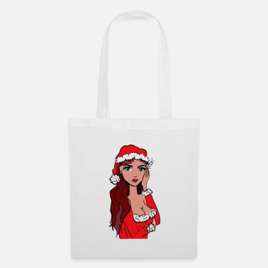 I Love Sex Christmas woman worried - Tote Bag