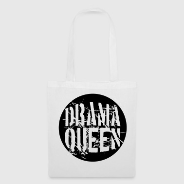 Ball Sport drama queen round ball circle ball stamp woman pri - Tote Bag