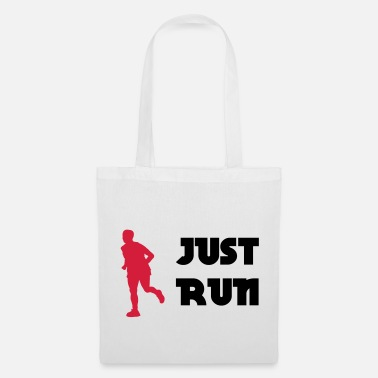 Just Just run - Borsa di stoffa