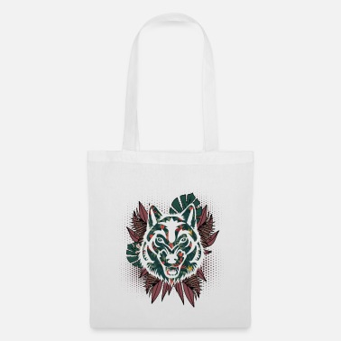 Grey Wolf Hawaiian - Tote Bag