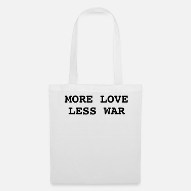 Was PLUS D'AMOUR MOINS WAS - Tote Bag