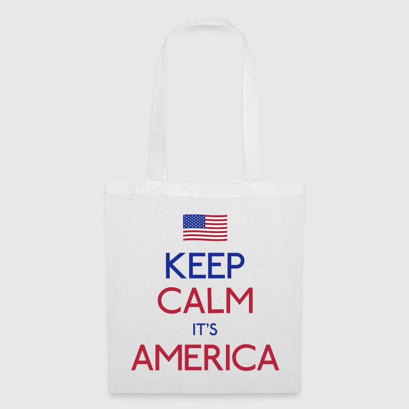 keep calm it's america - Tote Bag