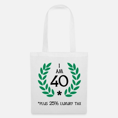 Birthday 50 - 40 plus tax - Tote Bag