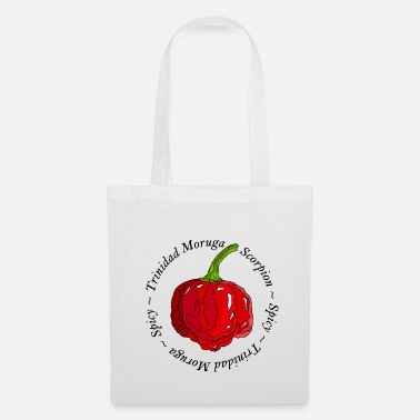 Paprika Trinidad Moruga Scorpion Chili Pepper Sharp - Tote Bag