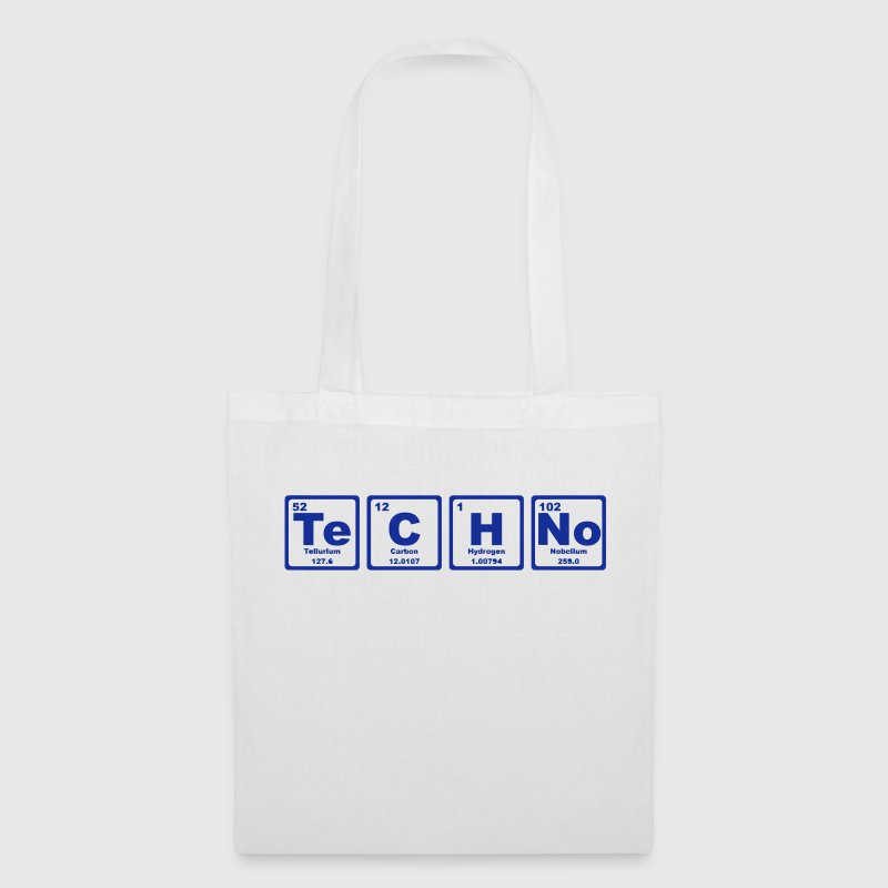 TECHNO PERIODIC TABLE - Borsa di stoffa