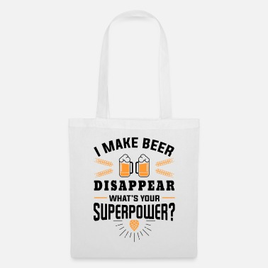 Taste I make beer disappear what´s your superpower? - Tas van stof